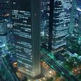 053-夜の都庁展望台より