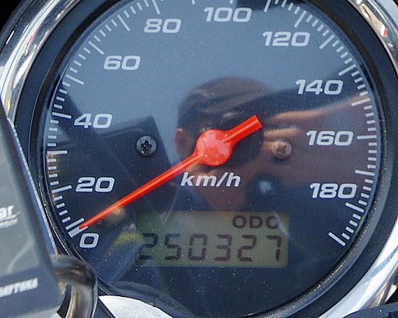 CB400SF SPEC2 走行 25万キロ達成! ODO: 250000km