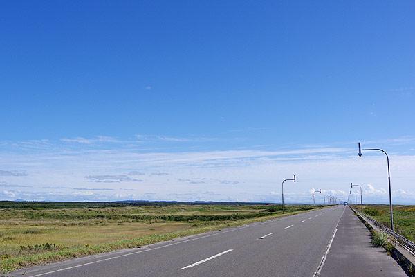 S660 北海道ツーリング 道道106号 オロロンライン 留萌方面 南行き