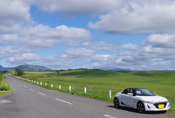 S660 北海道ツーリング 多和平