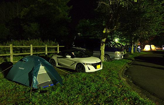 S660 北海道ツーリング つるいキャンプ場