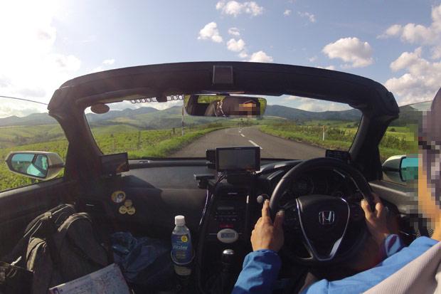 S660 北海道ツーリング ナイタイ高原 往路 GoPro2