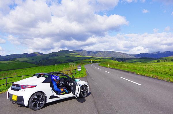 S660 北海道ツーリング 2019 ナイタイ高原
