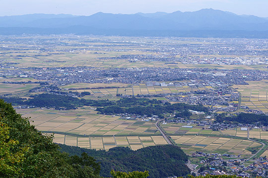 S660 ツーリング 弥彦村 田園風景