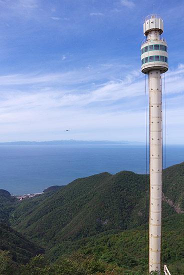 S660 ツーリング 弥彦山パノラマタワー