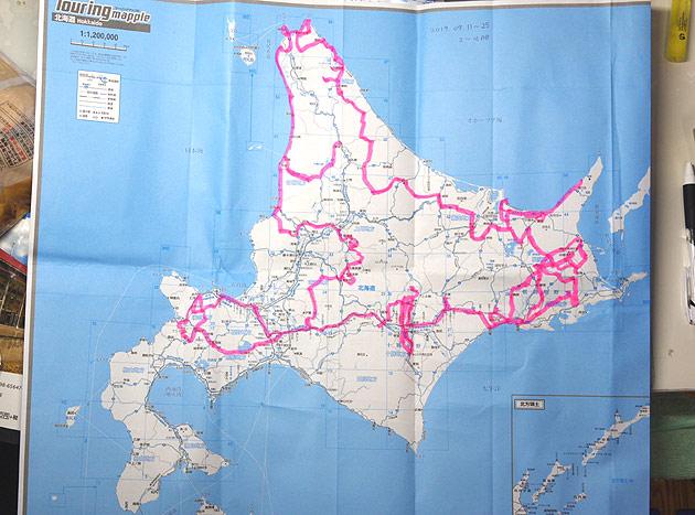 S660 北海道ツーリング 2019 17日間の旅の足跡